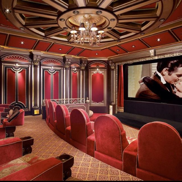 Home Theater Decor Pictures: 145 Best Images About Home Theater / Cinema Theatre On