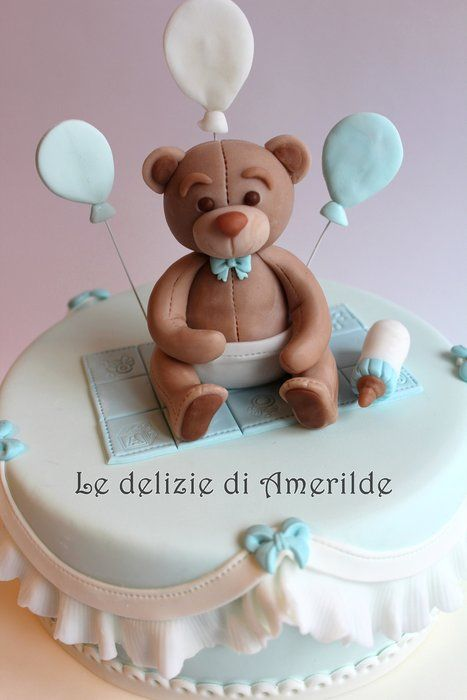 baby bear - by Amerilde @ CakesDecor.com - cake decorating website