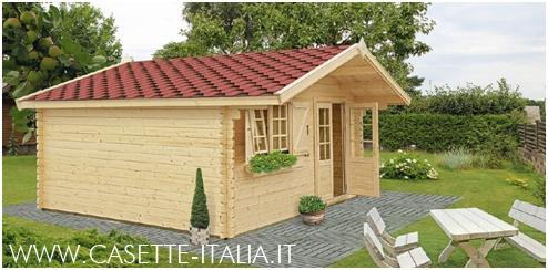 Casette in legno, casette di legno, casette da giardino, bungalow ...