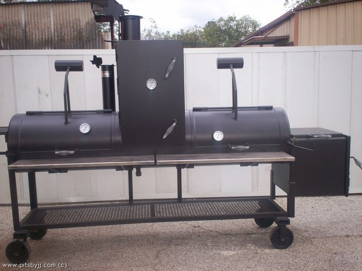 BBQ Smokers | ... made BBQ Pits by JJ ( BBQ pits, grills, smokers, and trailer pits