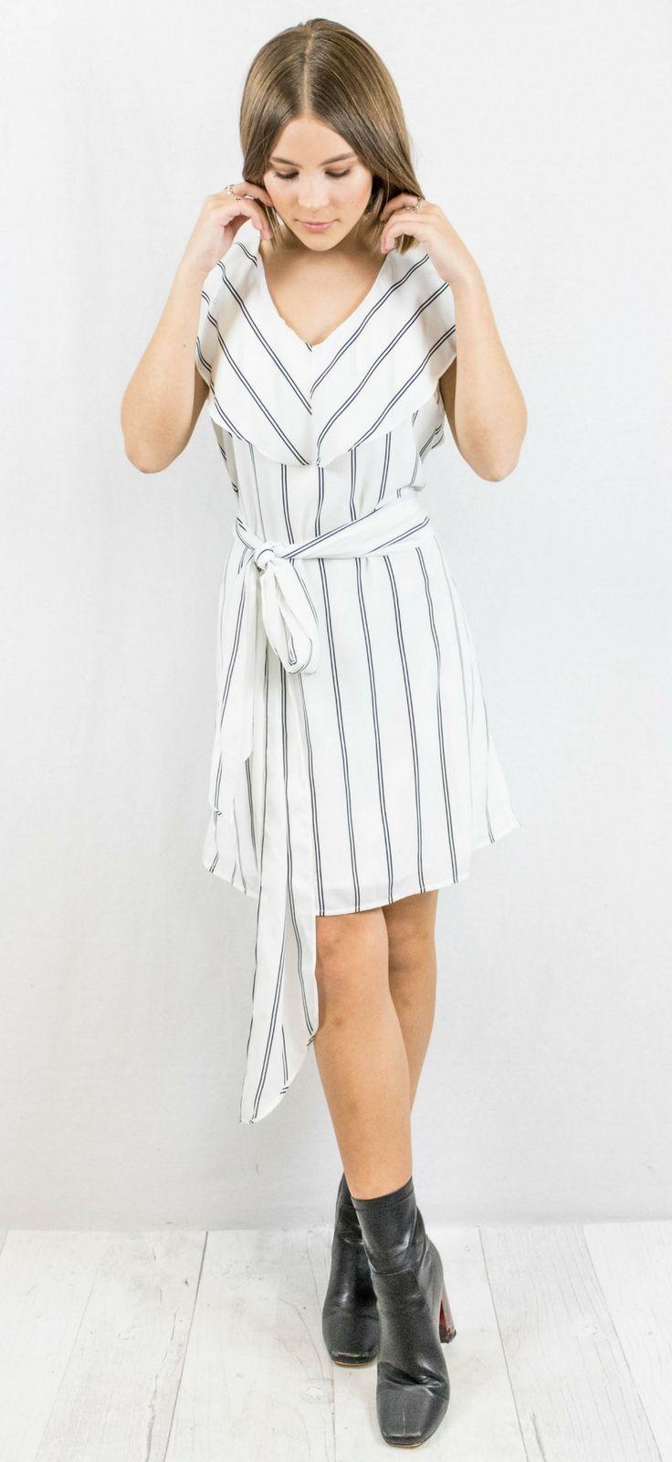 Vertical Striped Dress  35.00    work dress 284cdca0f