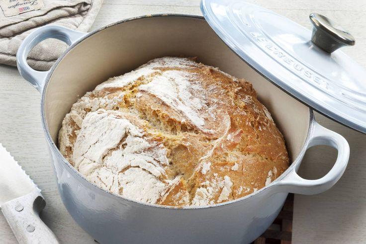 Bakelyst.no: Her har du en deilig oppskrift på eltefritt brød i gryte.