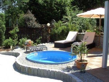 1000+ images about pools on pinterest | small yards, warm and, Garten und Bauen