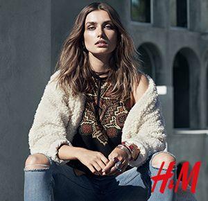 Rockowy styl łączy się z romantycznym boho! Najmodniejsze kurtki, ciepłe dzianiny, oversize'owe kroje i printy, które dodadzą koloru temu sezonowi, czekają na Was w H&M!