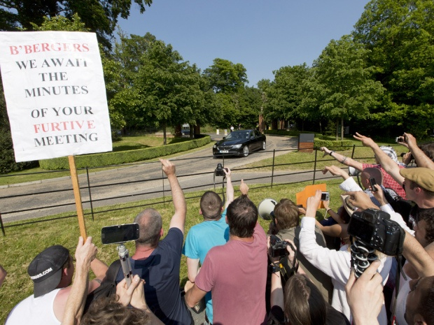 World's rich and powerful, including handful of Canadians, dodge protesters to meet at secretive Bilderberg conclave