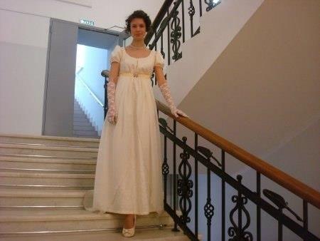 Платье времён джейн остин