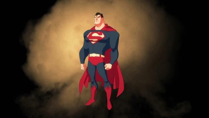 Sneak peek at Supes & others in Superman VS the Elite