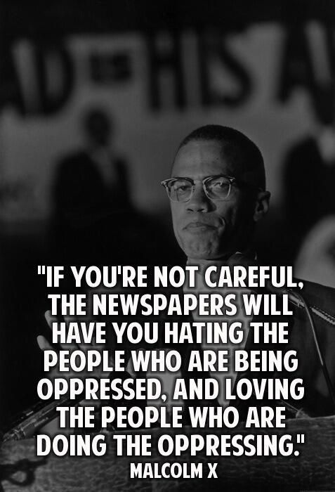Can not pin this enough Malcolm X. #Hillsborough