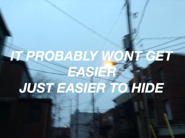 looking like you just woke up // the front bottoms l