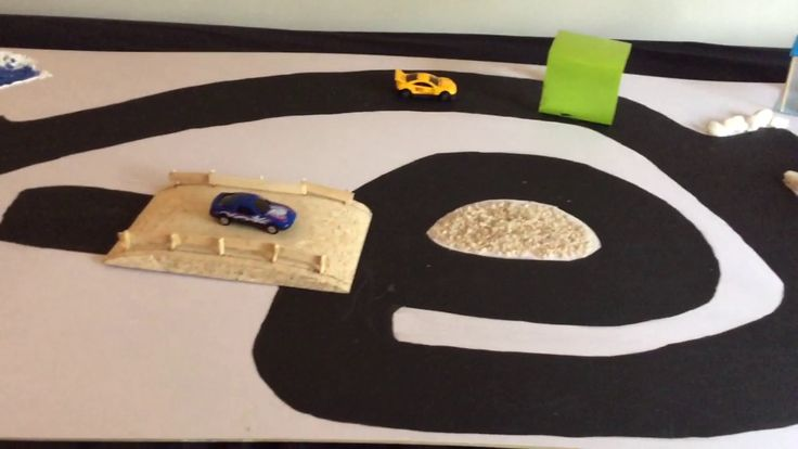 Quick and Easy way to build fun road for Toddlers