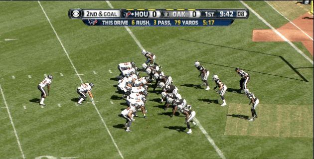 J.J. Watt Lines Up at Tight End, Catches 1-Yard Touchdown Pass Against Raiders | Bleacher Report
