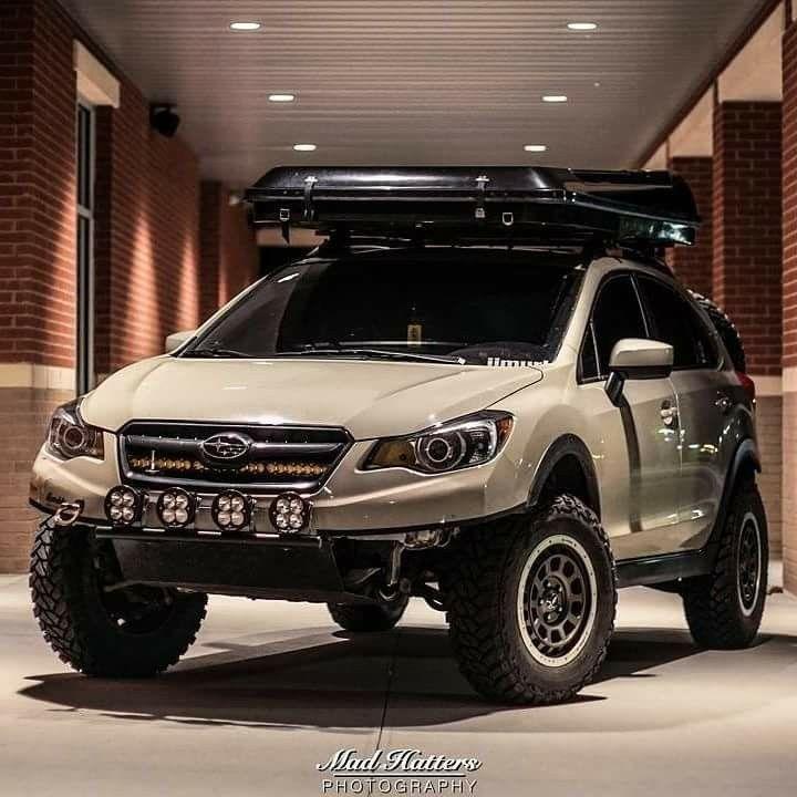 off-road ready Subaru CrossTrek