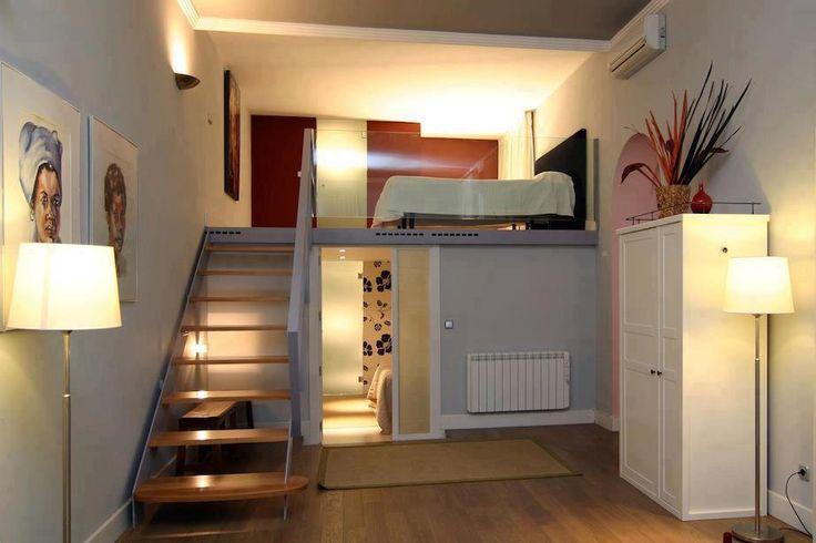 Creative Space Saving Apartment ♥ #interior #design