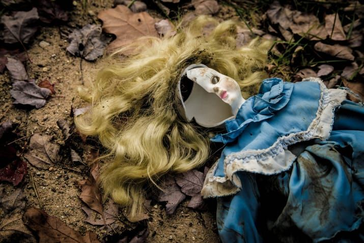"""This popular Japanese urban legend is about a porcelain doll that, after being abandoned by her owner, decides to murder her. For every step she takes, getting closer and closer to her victim, she greets the girl with a phone call. What sounds like a prank at the beginning of the story grows darker and darker in tone as the story goes on: A family is moving houses and their daughter throws away a porcelan doll she named Mary. That night, the girl gets a phone call.""""Hi, it's Mary. I'm at the…"""