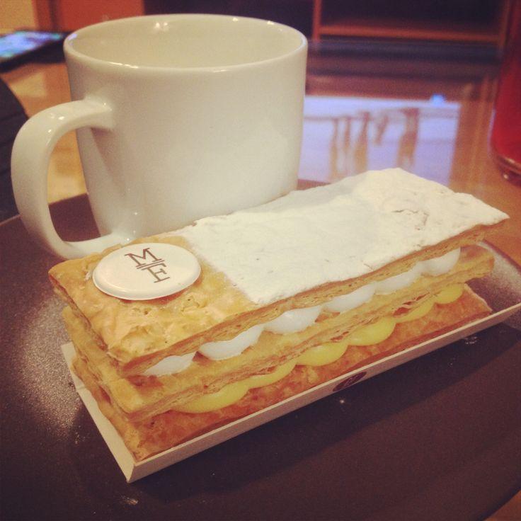 Milhoja de crema y merengue By mama framboise