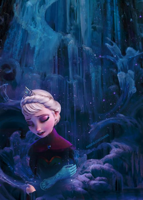 """This swirling storm inside..."" - Queen Elsa from Disney's Frozen"