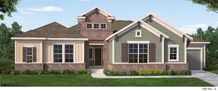 The Aviles by David Weekly Homes, featured in The Ranch at Twenty Mile #craftsman