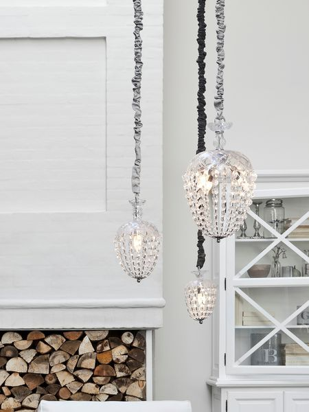 Scandinavian Glass Chandeliers