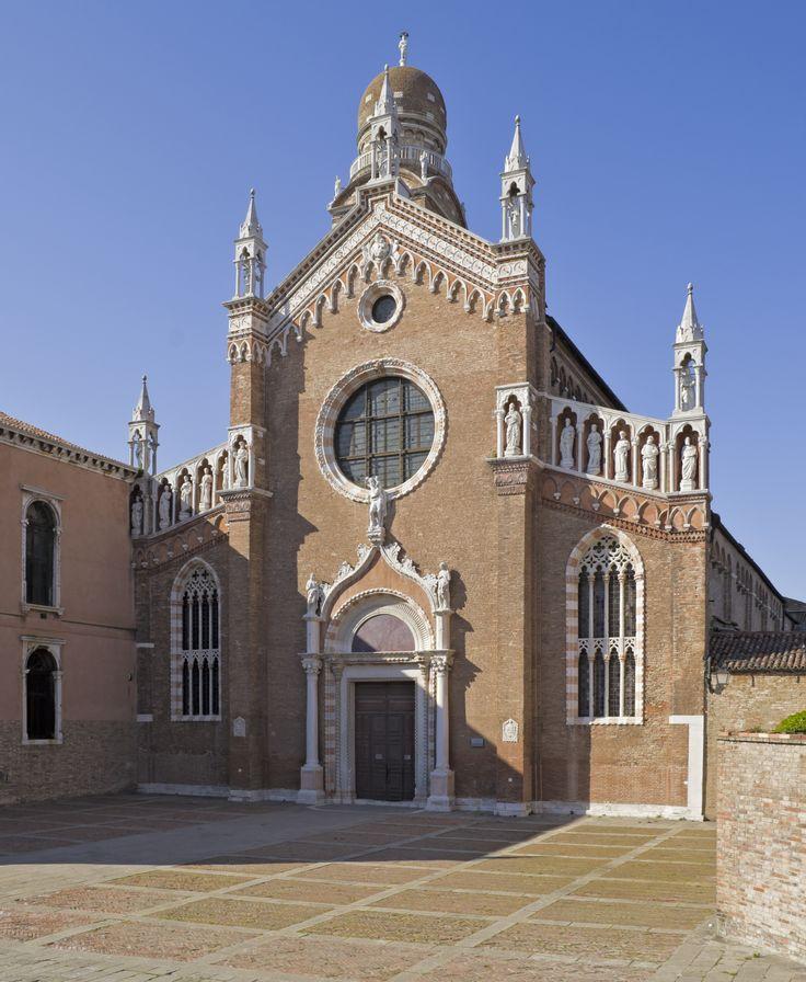 Madonna dell'Orto in Cannaregio:  an amazing gothic church