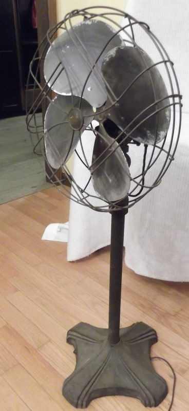 Details About Vintage Art Deco Style Oscillating Electric
