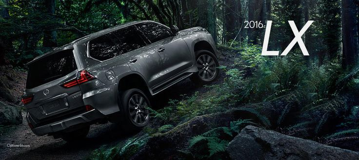 2016 Lexus LX - New Lexus Model Details from Lexus of Las Vegas