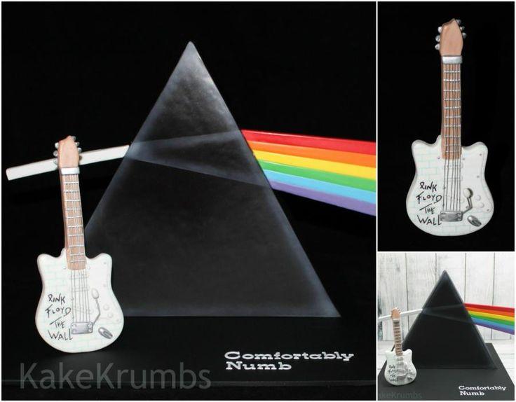 Pink Floyd Dark Side of the Moon - Cake by Kake Krumbs