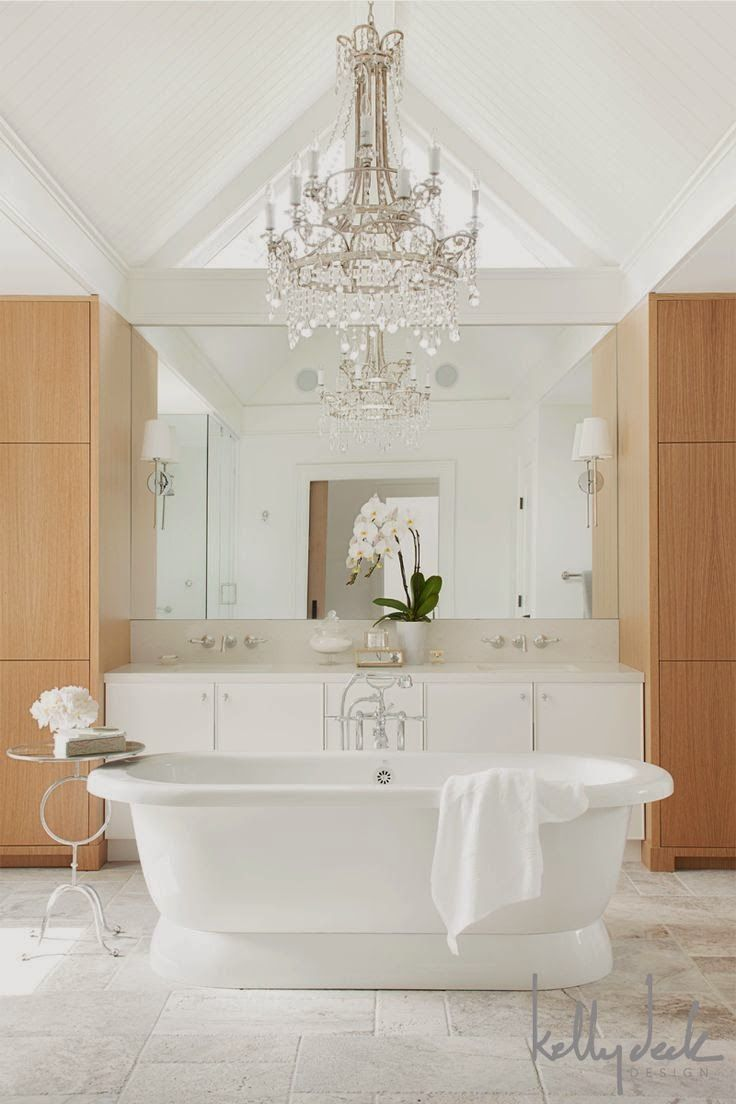 194 best Beautiful Bathrooms images on Pinterest | Bathroom, Half ...