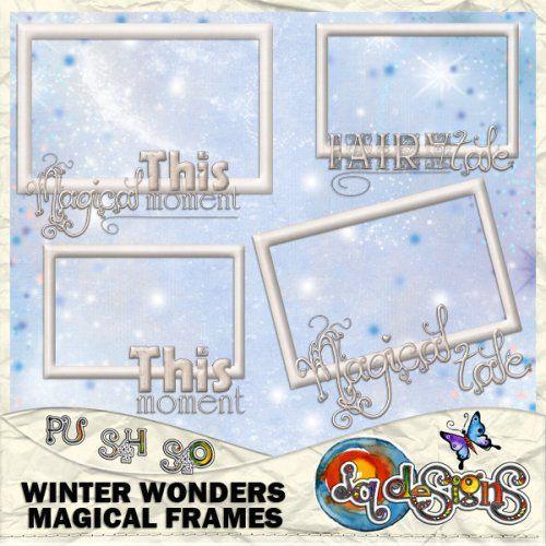 JQD Winter Wonders Magical Frames