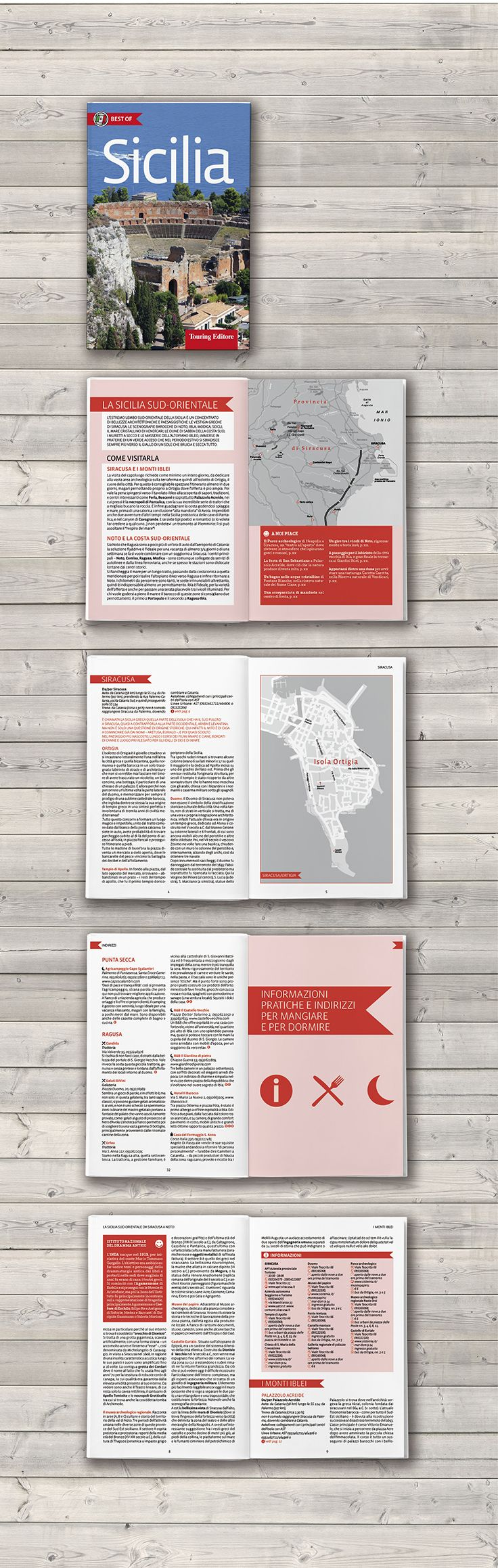 Cover and book design / Tourist guide / Touring Editore