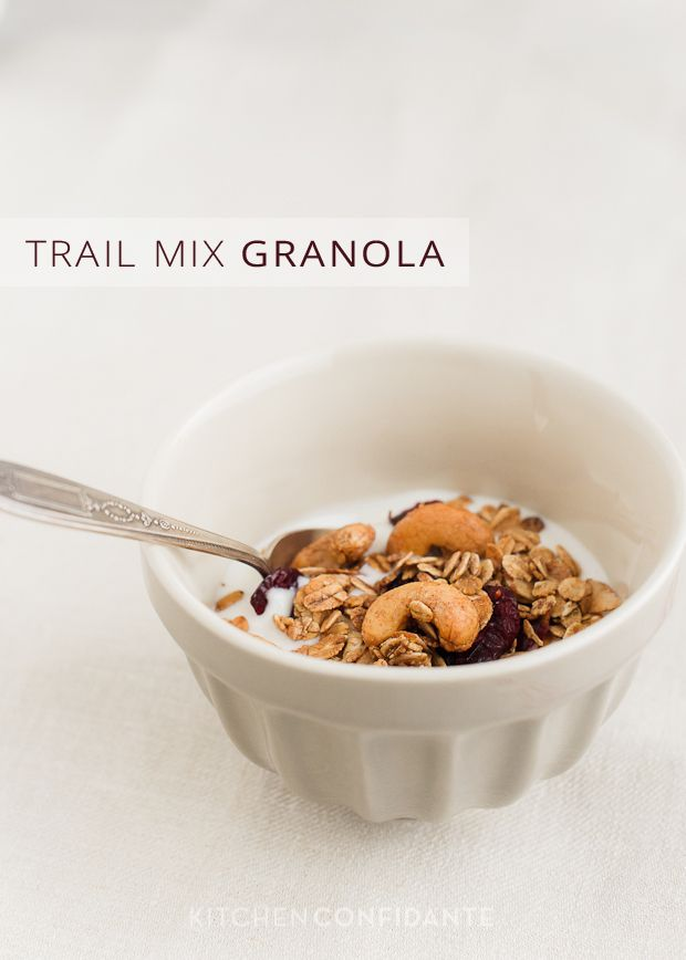 Trail Mix Granola | Kitchen Confidante