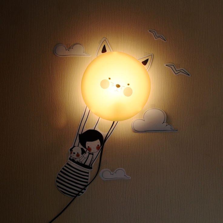 """Хотите дополнить детскую спальную яркой, необычной деталью? Детская настенная лампа """"FARM"""" то, что вам нужно! С чего начать? Подберите подходящее место для светильника, приклейте наклейки, закрепите плафон, подсоедините провод и готово! Наклейки выполнены из материала, который без особого труда ложится на ровную поверхность и хорошо держится. В комплекте круглого настенного светильника так же имеется крепление. #step2gift #шагкподарку #детский #ночник #FARM #sweethome"""