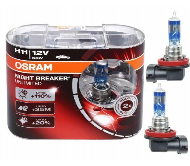 Osram Night Breaker Unlimited H11 64211nbu Hcb Autolampen Duo Box Bild 1 Lampe Autos Osram