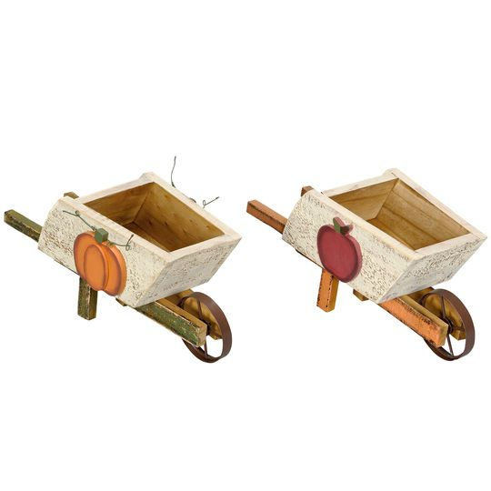 Get the Wooden Wheelbarrow By Ashland® at Michaels.com. Welcome the fall season with this beautiful wheelbarrow by Ashland.