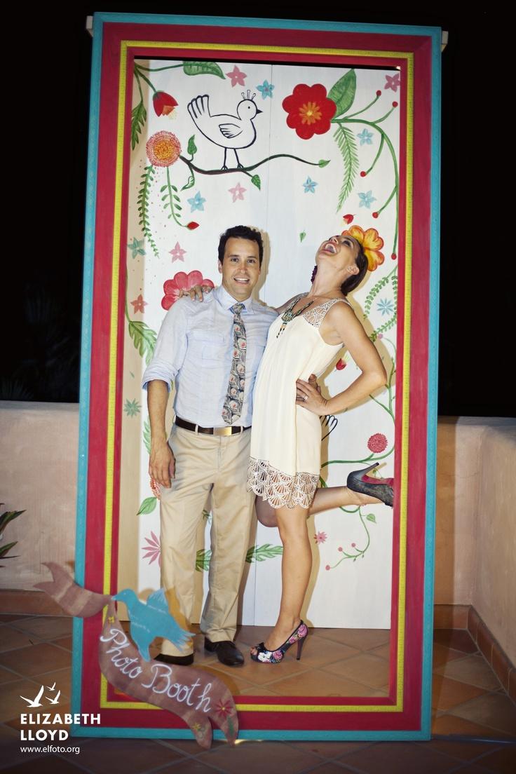 Photo Booth, Photobooth, beach wedding, papel picado, mexican wedding, vintage mexican wedding, puerto vallarta wedding, photo op area, bucerias wedding, mexican wedding decoration, mexican wedding ideas, Spring, Summer, Winter