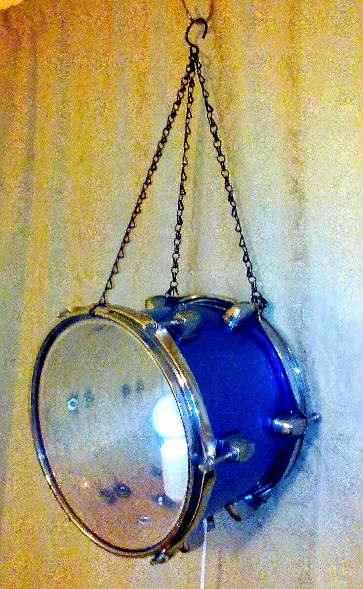Recycled drum light