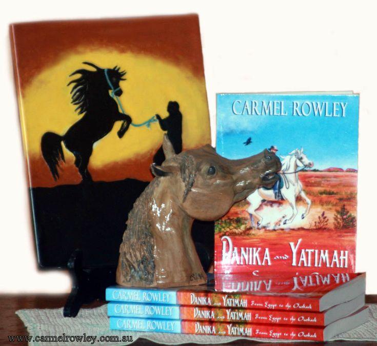 If you love horses you'll love Danika and Yatimah.