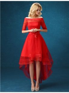Red cocktail dress online