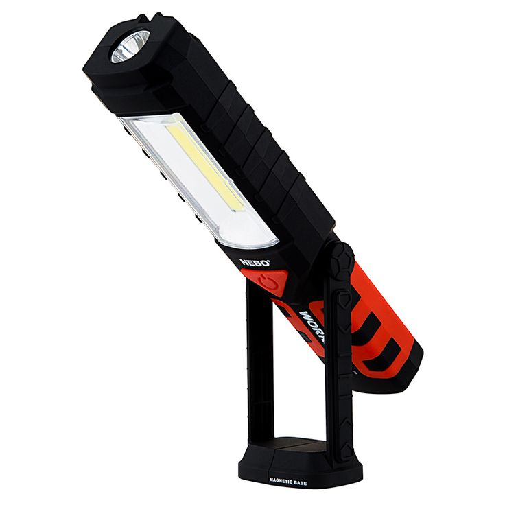 WORKBRITE 2 LED Work Light - NEBO Flashlight | LED Flashlights & Other Portable Lights | LED Flashlights & Flashlight Bulbs | Super Bright LEDs