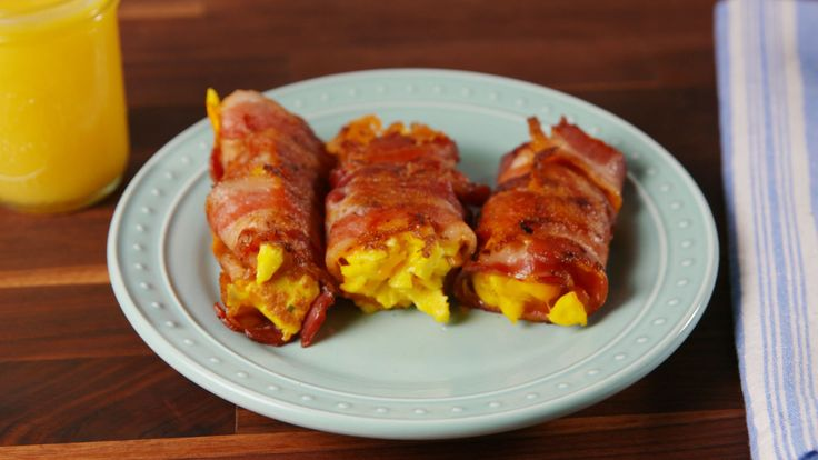 Bacon Egg and Cheese Roll-Ups