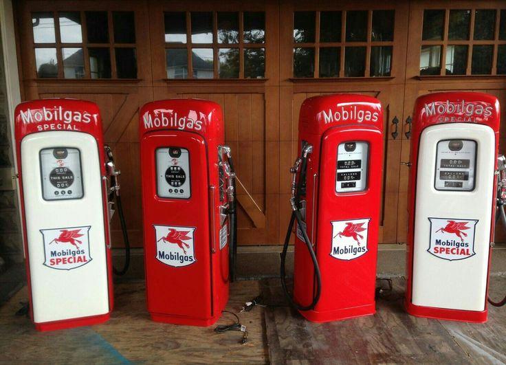 Incredible Script Top Mobil Gas Pump Collection
