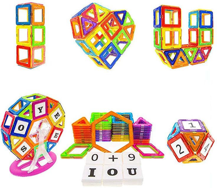 Soyee Magnetic Blocks STEM Educational Toys for 3,4 and 5 ...