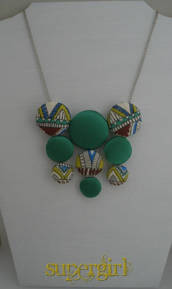 """Indian"" handmade necklace"