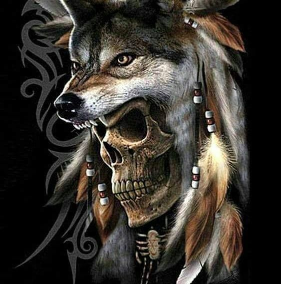 17 best ideas about grim reaper drawings on pinterest for Calavera lobo