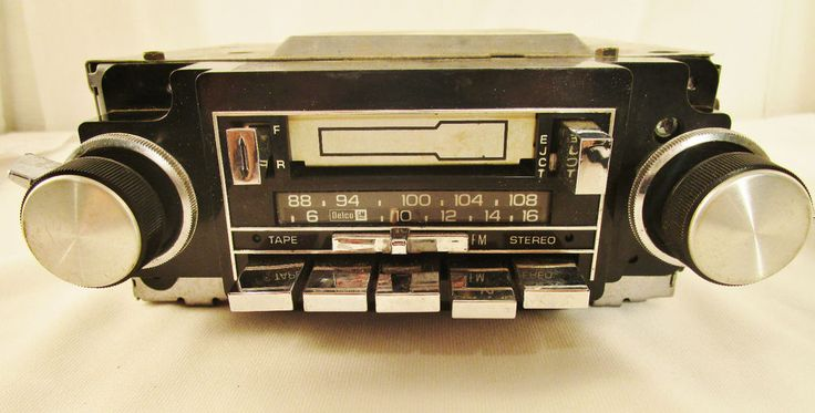 delco 16008160 cassette radio car stereo from 1984 chevy. Black Bedroom Furniture Sets. Home Design Ideas