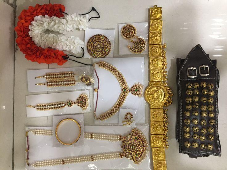 Bharatanatyam Jewellery  To order Whatsapp +919849713635