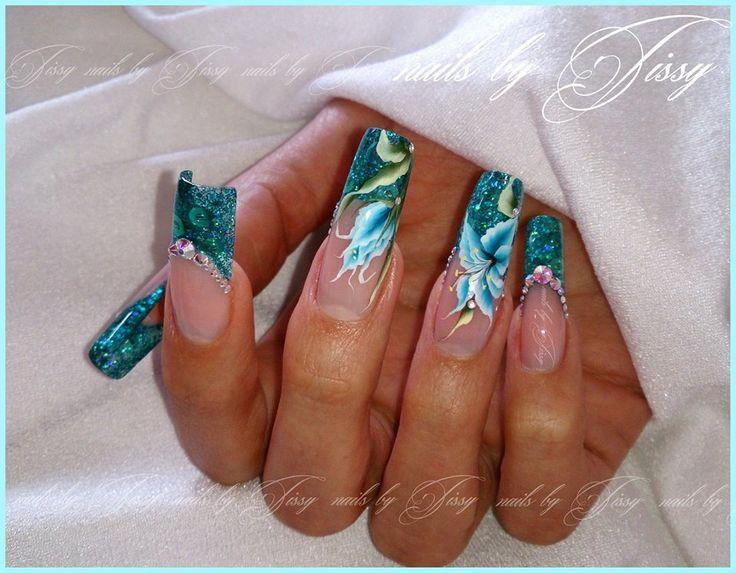 letní nehty