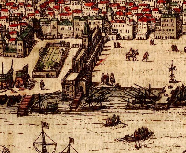 Terreiro do Paço em 1662 - Paço da Ribeira – Wikipédia, a enciclopédia livre