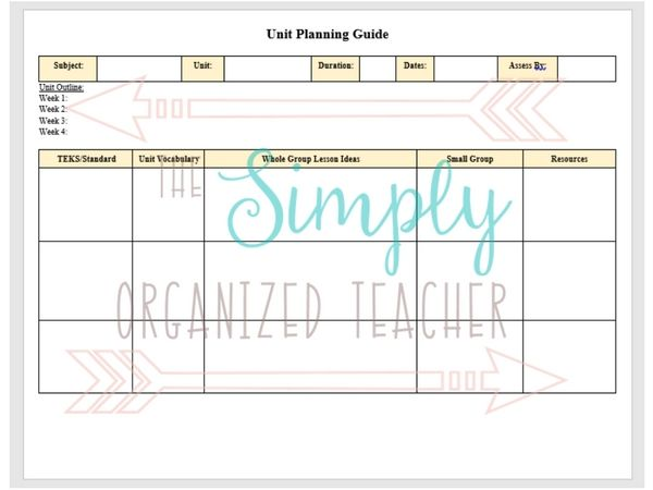 Best Homeschool Images On   Lesson Plan Templates