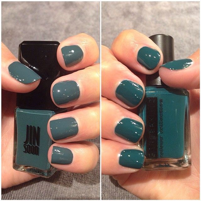 shades of teal this #manimonday