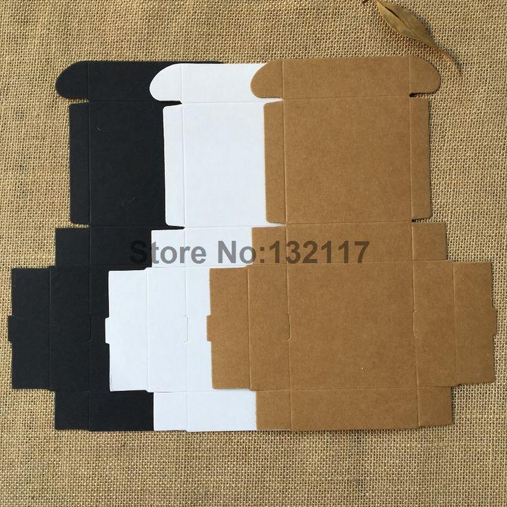 50 PCS 9.5*9.5*3 CM Noir Cartons Cajas Kraft Boîte de Papier Blanc Emballage Boîte Cadeau Faveurs De Mariage Boîte de bonbons Partie Fournitures Savon Boîte dans Cadeau Sacs et Emballage Fournitures de Maison & Jardin sur AliExpress.com | Alibaba Group